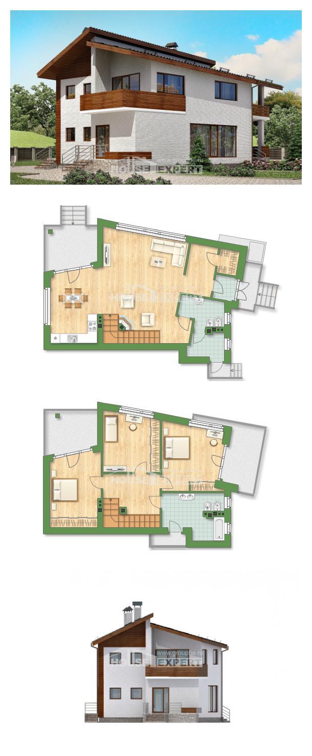 Проект дома 180-009-П   House Expert